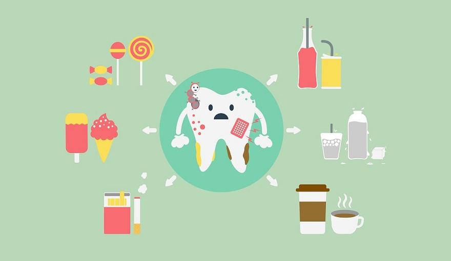 food teeth whitening
